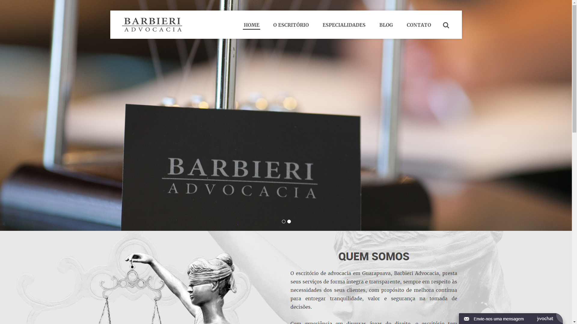 Barbieri Advocacia home